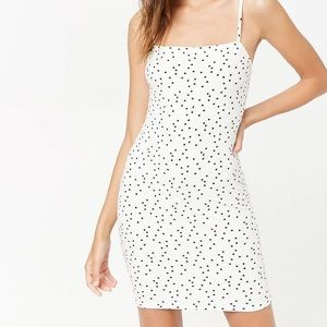 Star Print Body Con Dress